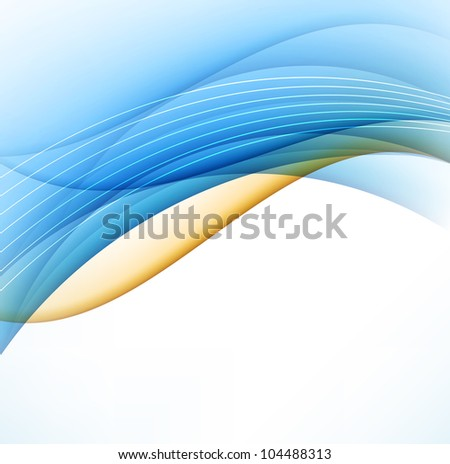 Abstract Line Background - stock vector