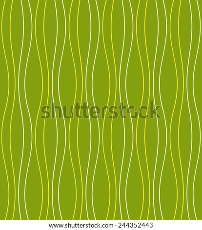Abstract linear background. Spring and summer motif. Vector seamless pattern.  - stock vector