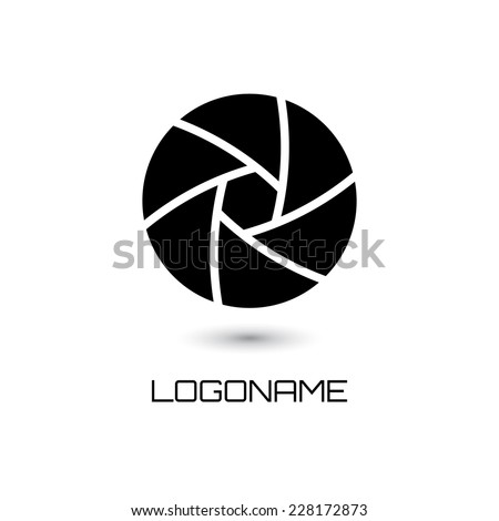 Abstract logo template. Corporate icon. Vector illustration. - stock vector