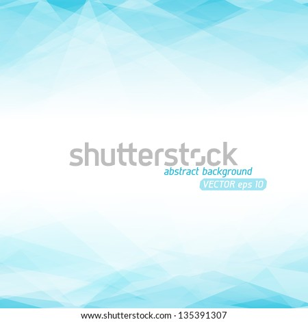 Abstract Lowpoly vector background. Eps 10 vector illustration. Used opacity mask of background - stock vector