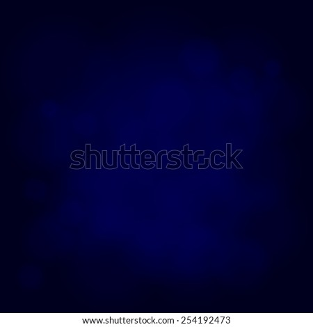 abstract magic light sky bubble blur blue background - stock vector