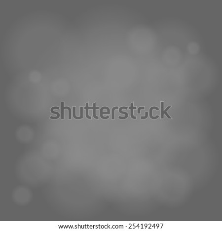 abstract magic light sky bubble blur gray background - stock vector