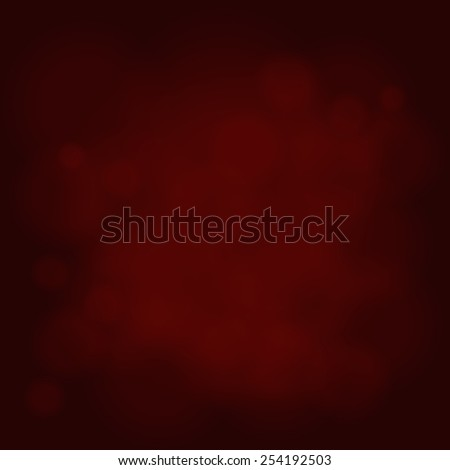 abstract magic light sky bubble blur red background - stock vector
