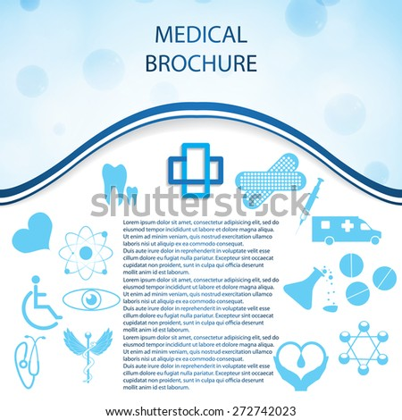 Abstract medical web silver icons set  - stock vector
