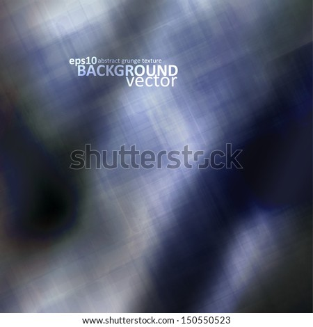 Abstract metal illustration, vector texture background eps10 - stock vector