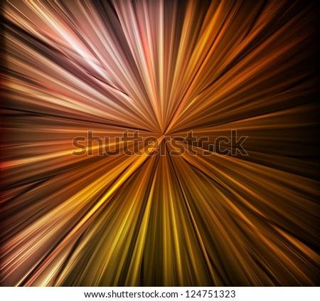Abstract metal vector background burst - stock vector