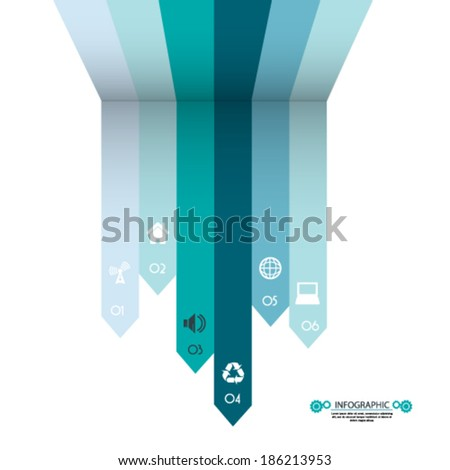 Abstract minimal infographics backgrounds  - stock vector
