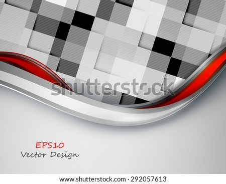 abstract modern bright vector template with copy space. Eps10 - stock vector