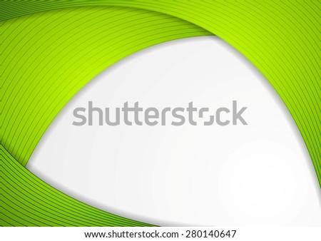 Abstract modern corporate wavy background. Vector design - stock vector