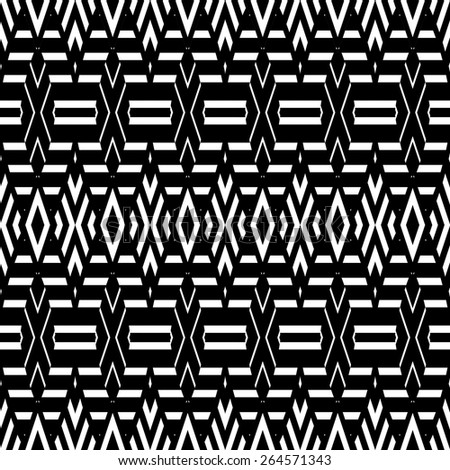 abstract modern ethnic seamless fabric pattern, Seamless pattern can be used for wallpaper, carpet textur, pattern fills, web page background,surface textures. seamless background - stock vector