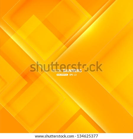 Abstract modern glass background. Vector eps10 illustration. - stock vector