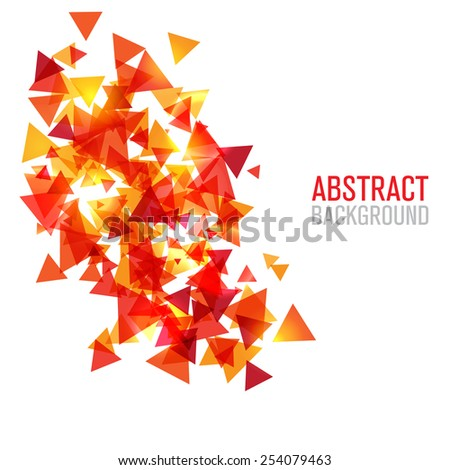 Abstract modern polygonal background for brochure and covers - stock vector