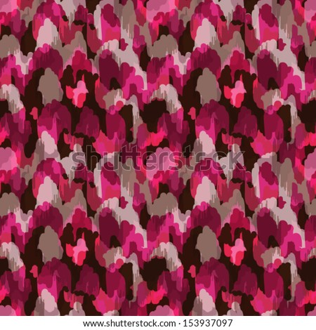 Abstract modern stylish pink animal seamless web or fabric pattern - stock vector