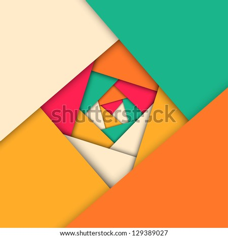 Abstract mosaic geometric background, vector illustration - stock vector