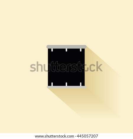 Abstract music instrument - stock vector