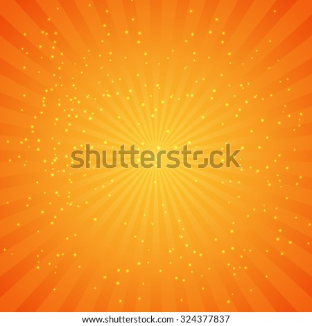 Abstract Natural Light Background Illustration EPS10 - stock vector