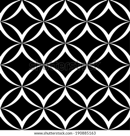 Abstract ornamental seamless pattern. - stock vector