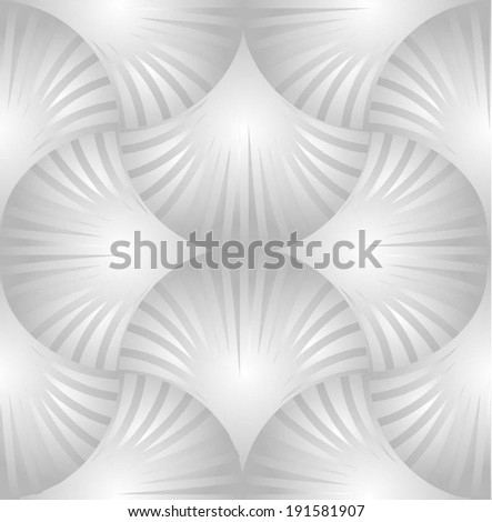 Abstract ornate geometric seamless pattern. Vector. - stock vector