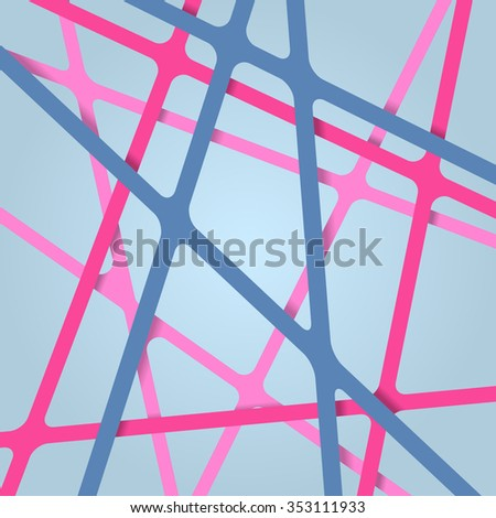 Abstract pattern. Lines abstract pattern. Stripes abstract pattern. Geometric abstract pattern. - stock vector