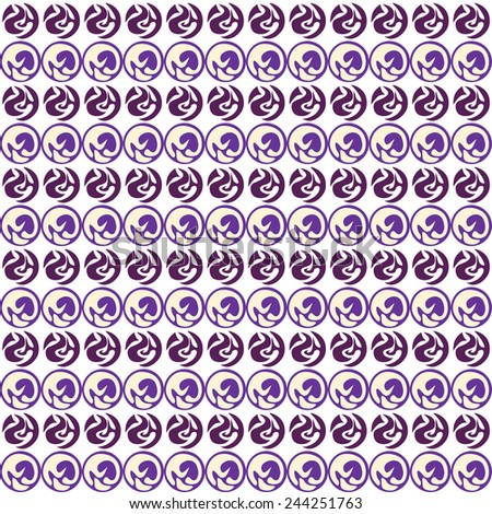 Abstract purple  background, vector - stock vector