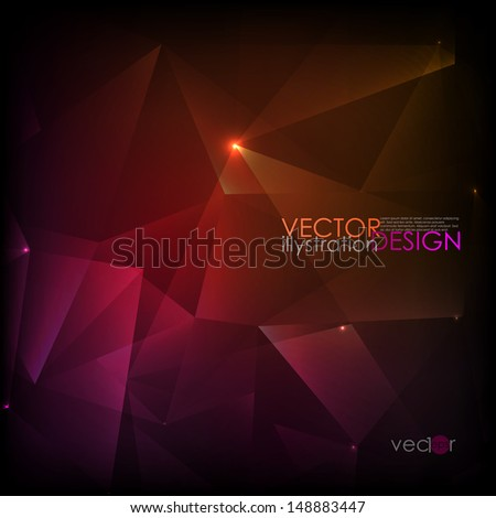 Abstract purple background. Vector illustration. Eps 10. - stock vector