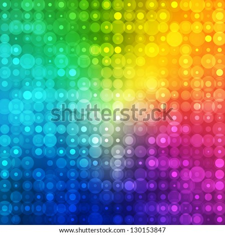 Abstract rainbow color background for your business artwork. Vector illustration. - stock vector