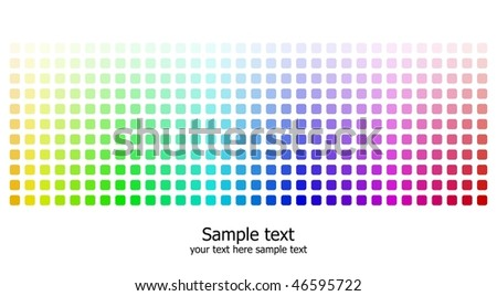 Abstract rainbow colours background - stock vector