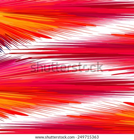 Abstract red and pink vibrant background. Vector illustration, EPS10. - stock vector