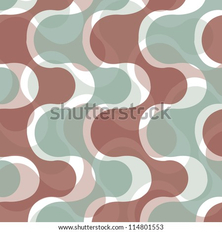 Abstract retro pattern - stock vector