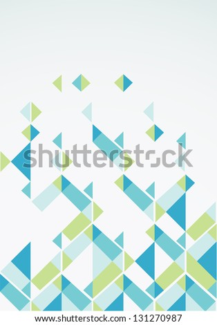 Abstract retro-style background. Vector - stock vector