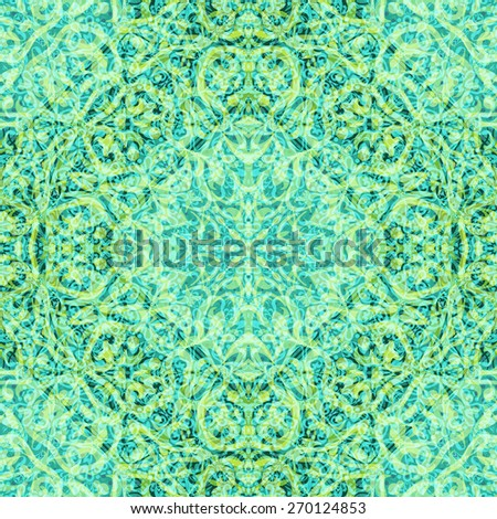 Abstract Seamless Background with Symbolical Colorful Floral Patterns. Eps10, Contains Transparencies. Vector - stock vector