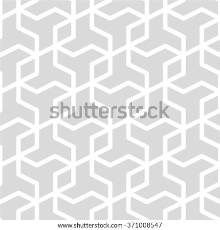 Abstract seamless geometric monochrome pattern. Vector floor texture background - stock vector