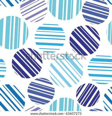 Abstract seamless pattern for background - vector illustration. Easy editable background. You can use it to fill your own background. - stock vector