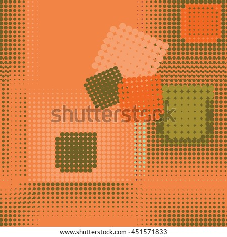 Abstract seamless pattern. Seamless pattern with dots. Vector pattern. Dots pattern. Vector illustration. - stock vector