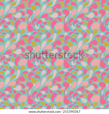 Abstract Seamless Pattern. Vector Background - stock vector