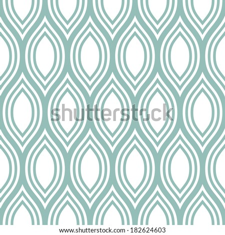 Abstract seamless pattern. Vector background. Repeating wavy texture - stock vector