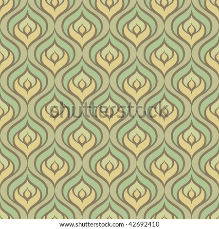 abstract seamless pattern, vector illustration - stock vector