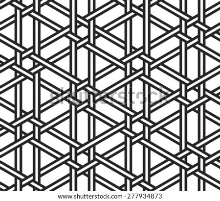 abstract seamless safe grid texture background vector illustration - stock vector