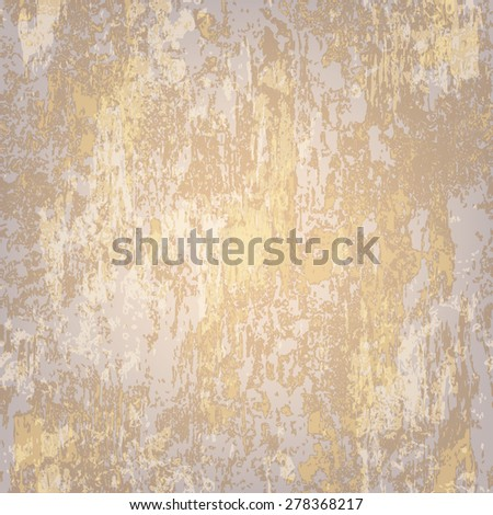 abstract seamless texture of light gray rusted metal - stock vector