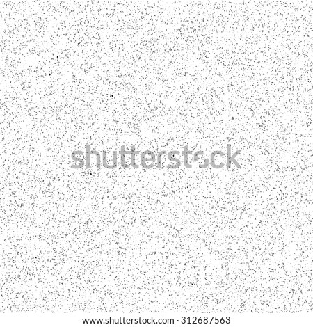 Abstract seamless vector background with random dots, strokes and stains. Grunge texture for wallpapers - stock vector