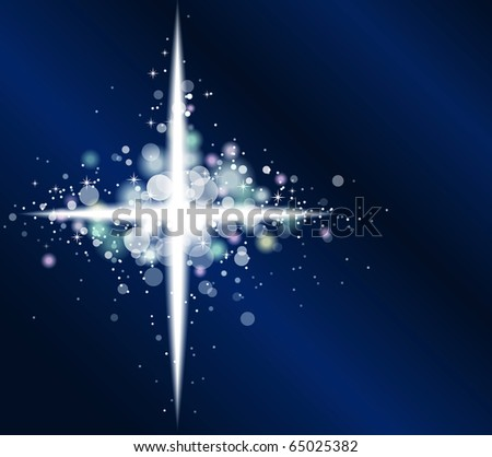 Abstract shining lights background - stock vector