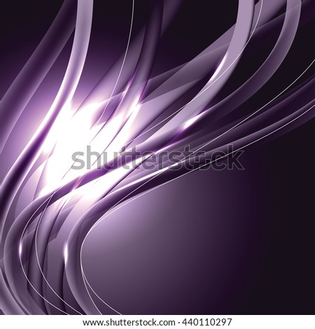 Abstract Shiny Background. Purple Sparkly Illustration. - stock vector