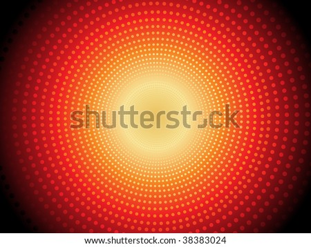 abstract shiny dotted background, vector illustration - stock vector