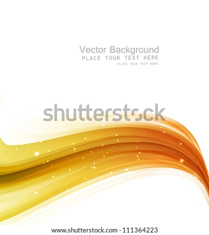 abstract shiny golden technology colorful wave vector - stock vector
