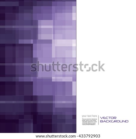 Abstract Shiny Purple Background. Vector Illustration. - stock vector