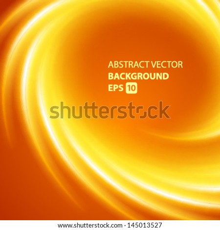 Abstract smooth twist light lines vector background. Eps 10. - stock vector