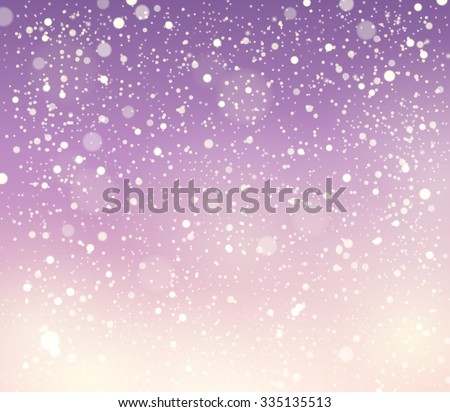Abstract snow theme background 5 - eps10 vector illustration. - stock vector