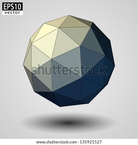 Abstract Sphere | EPS10 Vector - stock vector