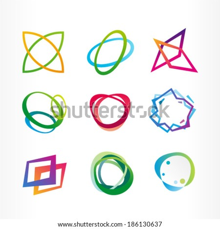 Abstract spiral - stock vector