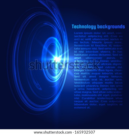 Abstract spiral background. Vector eps10 - stock vector